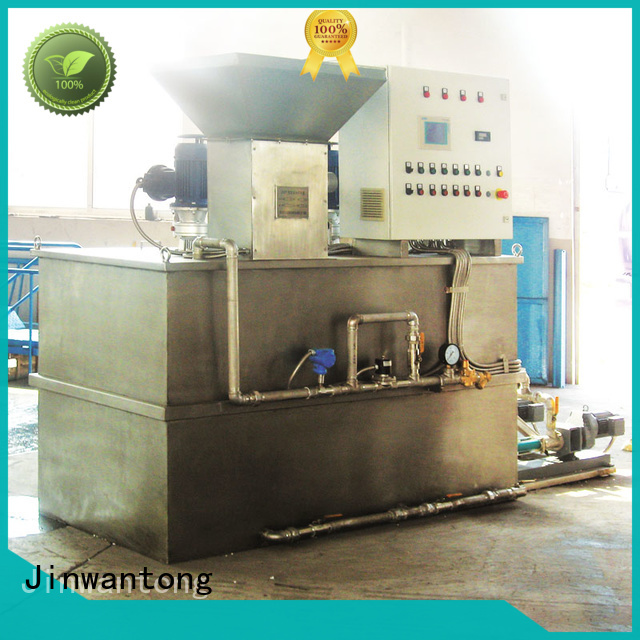 Jinwantong practical chemical dosing equipment for powdered and liquid chemicals