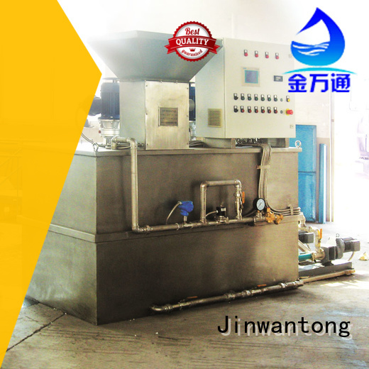 Jinwantong professional chemical dosing system suppliers series for mix water and chemicals