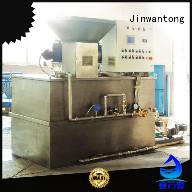 Jinwantong chemical dosing system suppliers factory for powdered and liquid chemicals