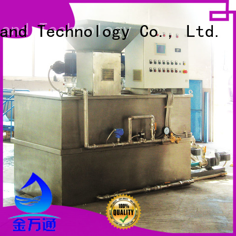 professional automatic chemical dosing system factory for mix water and chemicals
