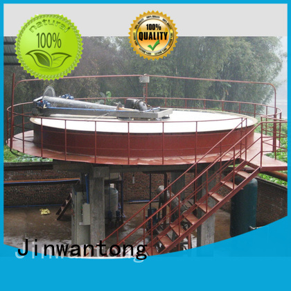 Jinwantong circular dissolved air flotation clarifier directly sale for tanneries