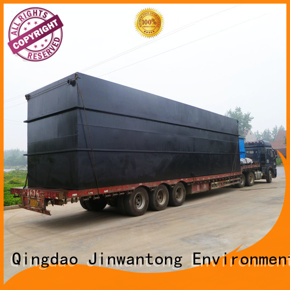 convenient package sewage treatment plant suppliers factory for oilfield labor camp