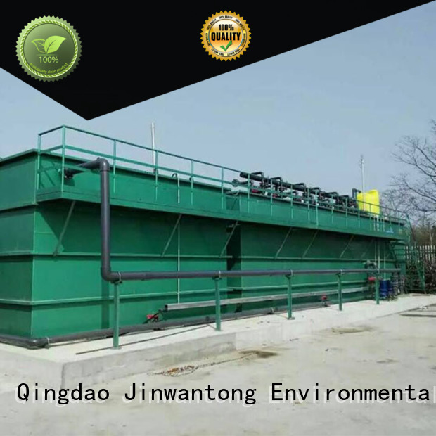 Jinwantong efficient types of wastewater treatment plants from China for paper industry