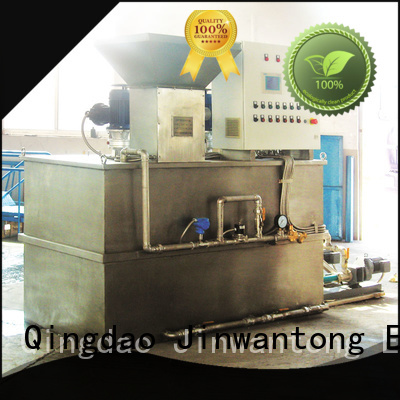 Jinwantong automatic flocculant dosing system directly sale for mix water and chemicals