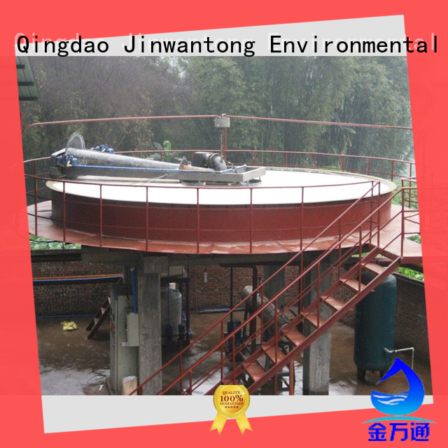 Circular DAF dissolved air flotation water Clarifier