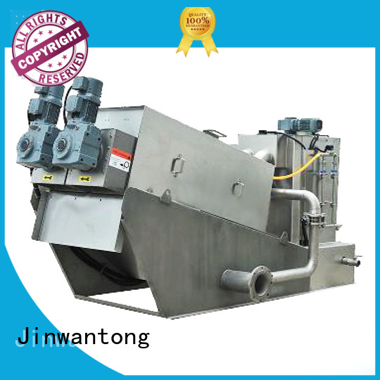 Jinwantong low cost sludge dewatering equipment wastewater supplier for wineries