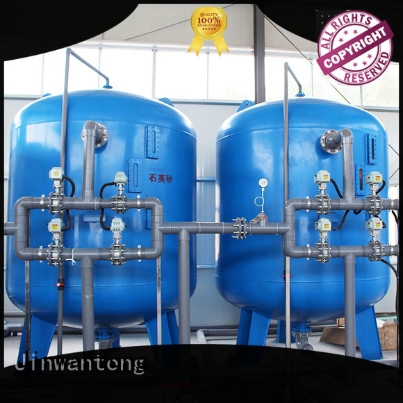 Jinwantong sand filter tank customized for grit removal