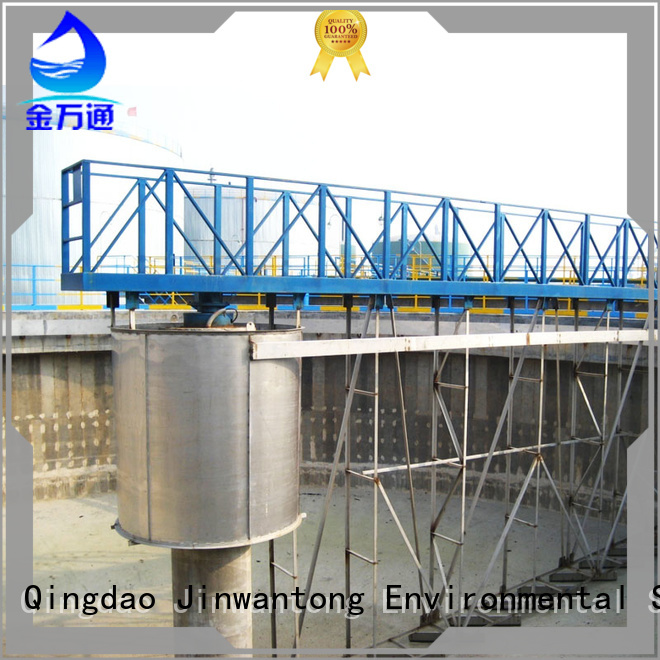 efficient sludge scraper system manufacturer for primary clarifier
