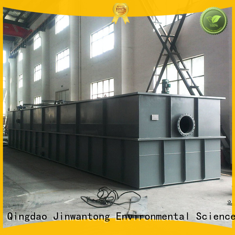 Jinwantong dissolved air flotation system customized for paper mills