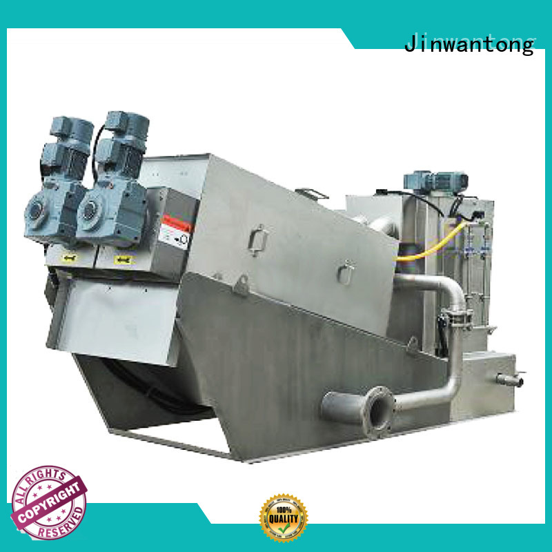 Jinwantong low cost screw press dewatering from China for resource recovery