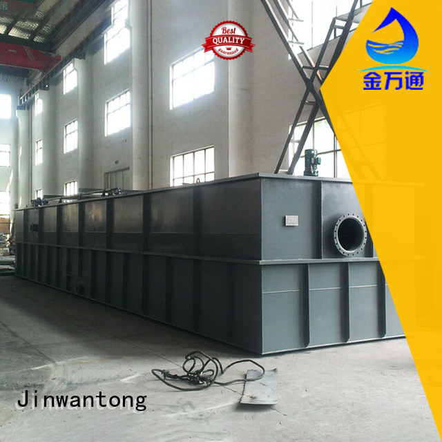 Jinwantong dissolved air flotation customized for removing suspended matters