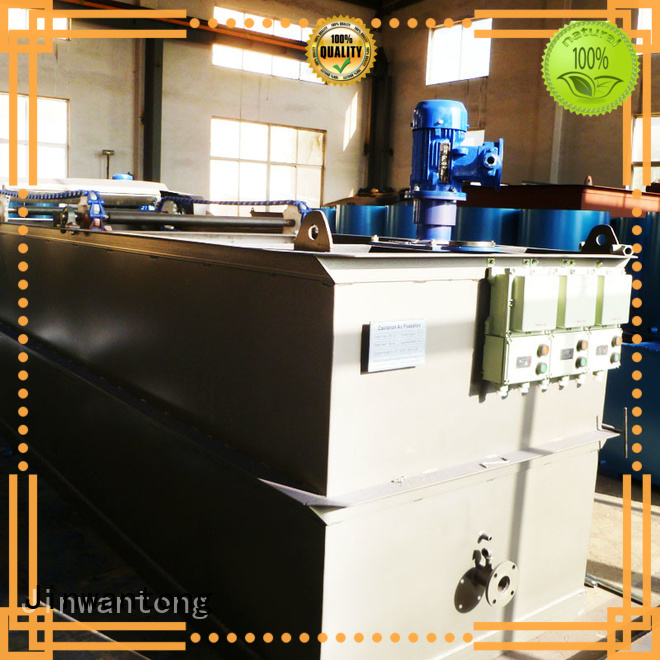 Jinwantong caf flotation equipment with good price for product recovery