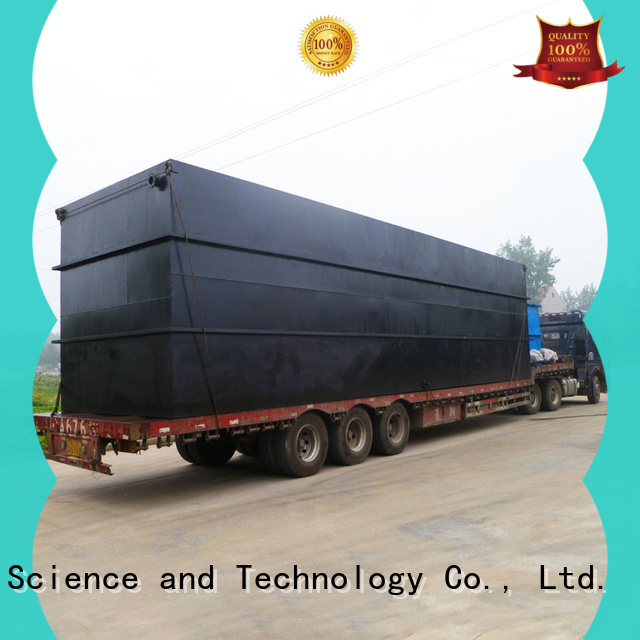 high-quality best domestic sewage treatment plant company for residential quarter