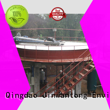 open style circular daf clarifier manufacturer for tanneries