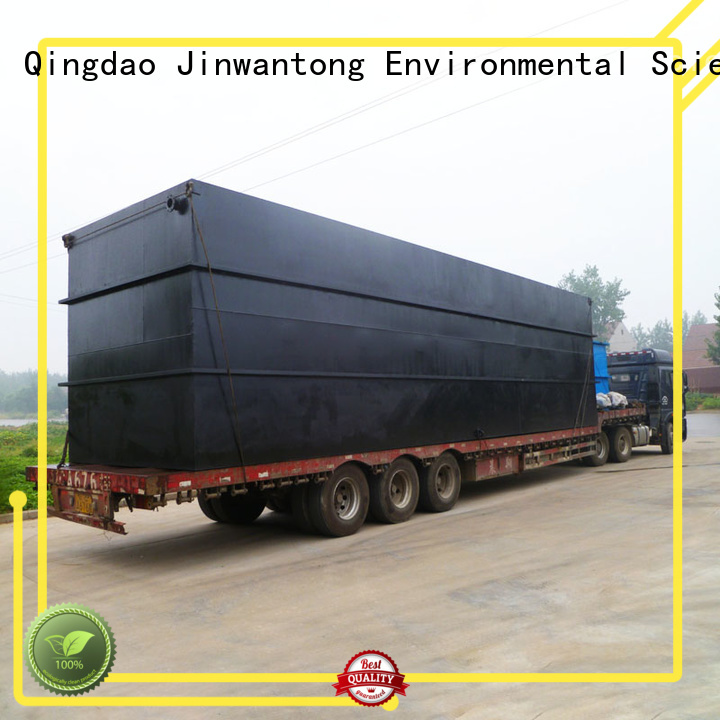 Jinwantong package sewage treatment plant suppliers directly sale for residential quarter