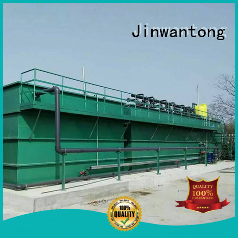 Jinwantong efficient industrial wastewater treatment customized for food industry