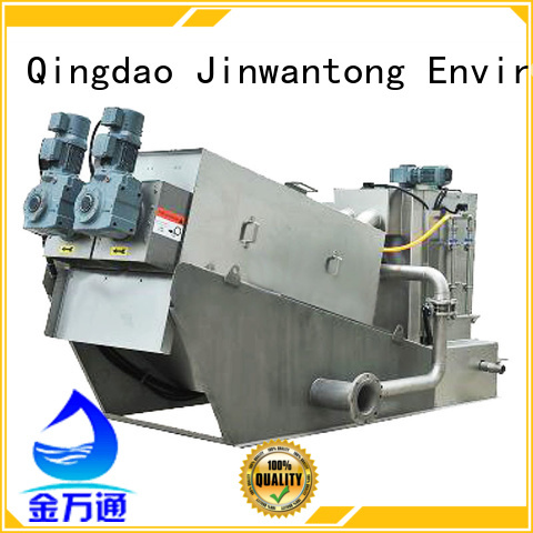 Jinwantong low cost sludge dewatering equipment manufacturer for resource recovery