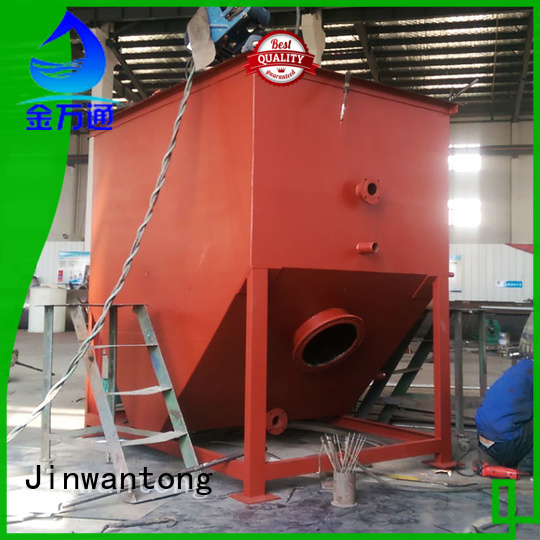 corrugated plate separator series for petrochemical effluents