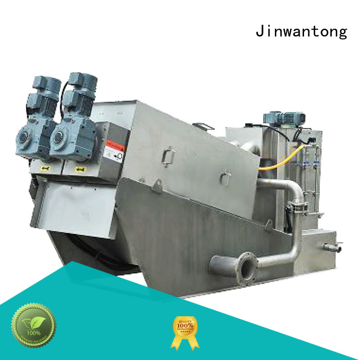 Jinwantong cost-effective sludge dewatering equipment manufacturer for resource recovery