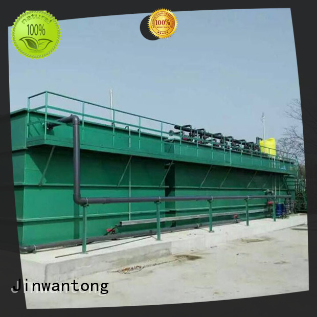 Jinwantong mbr sewage treatment wholesale for paper industry