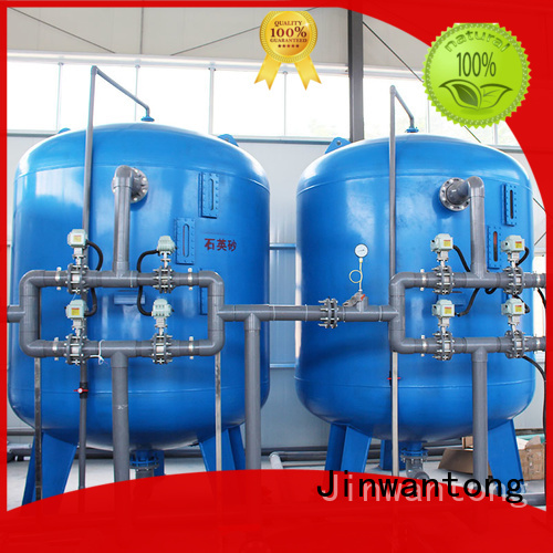 Jinwantong reliable sand filter design customized for alga removal