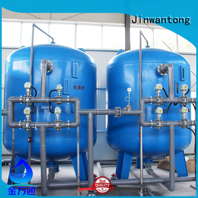 Jinwantong reliable sand filter design with good price for ground water purification
