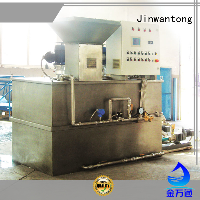 Jinwantong professional chemical dosing directly sale for mix water and chemicals