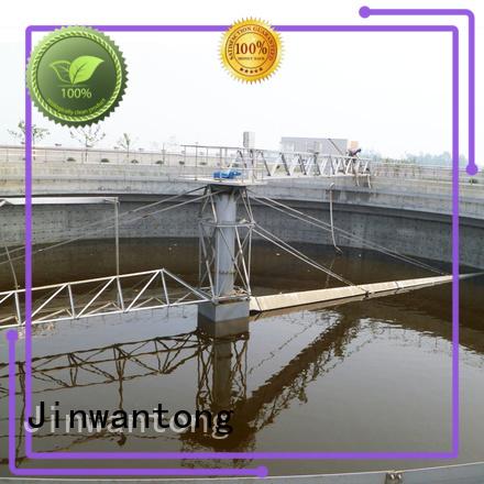 Jinwantong sludge scraper system customized for primary clarifier