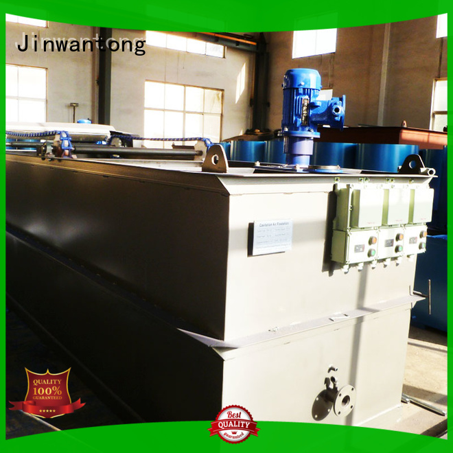 Jinwantong cavitation air flotation series for oil remove