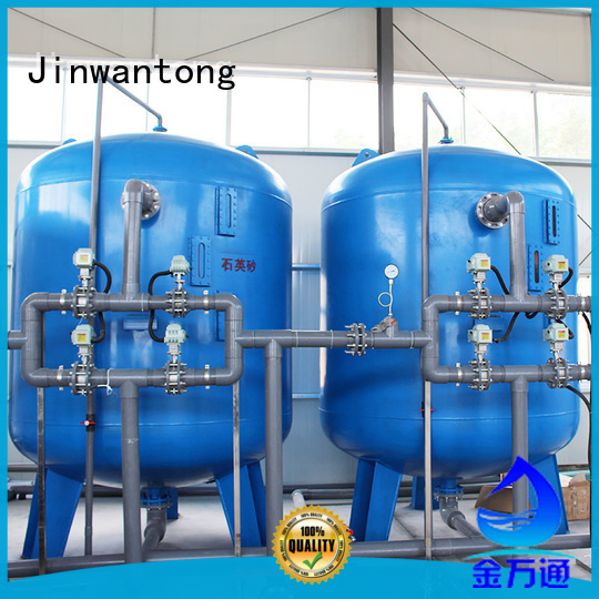 Jinwantong durable industrial wastewater treatment plant manufacturers for alga removal