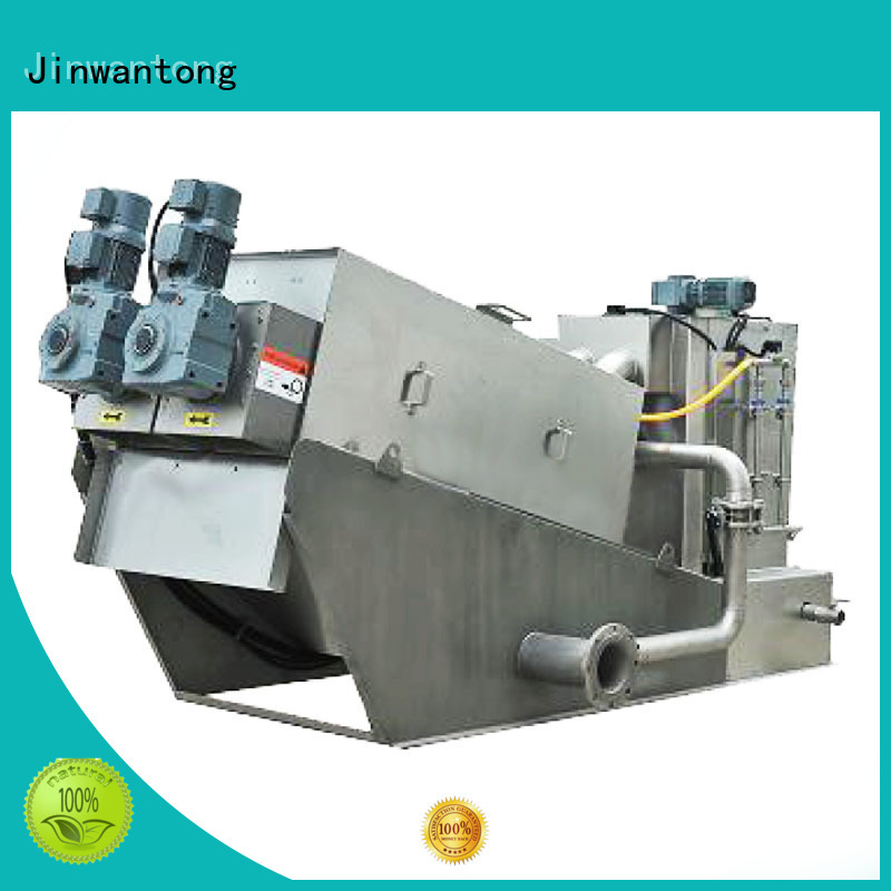 Jinwantong cost-effective sludge dewatering equipment from China for resource recovery
