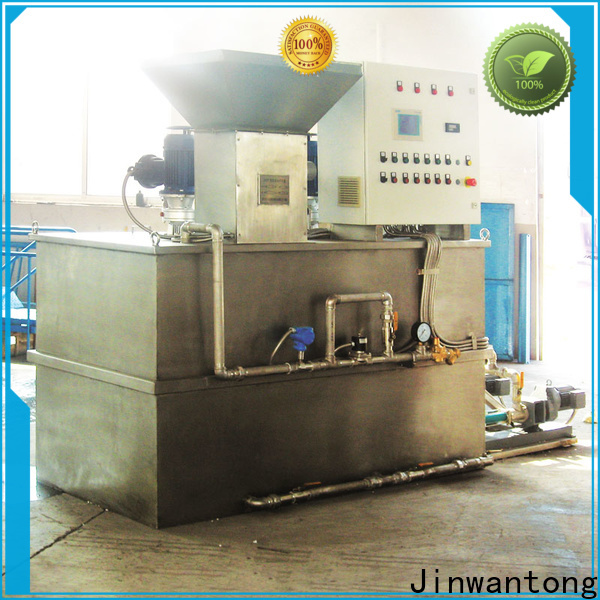 Jinwantong high-quality chemical dosing system design directly sale for mix water and chemicals