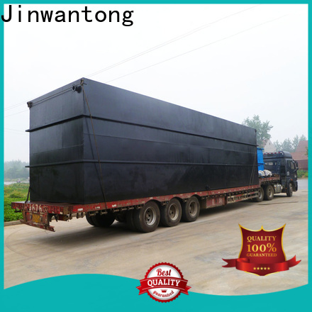 custom package sewage treatment plant company for oilfield labor camp