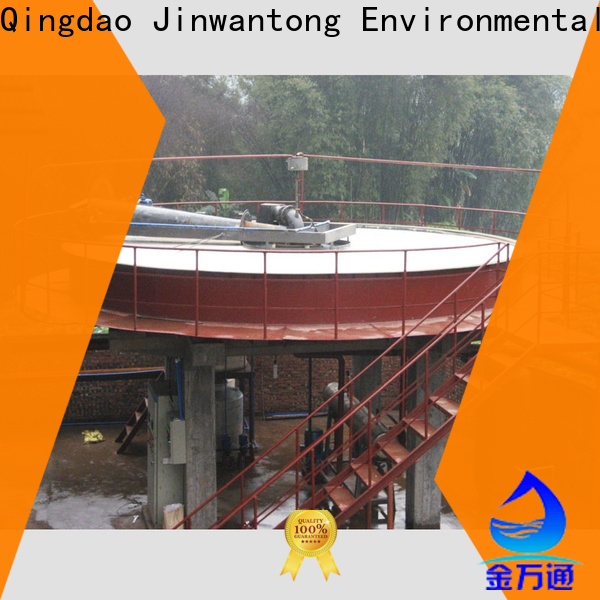 Jinwantong circular daf clarifier factory for tanneries