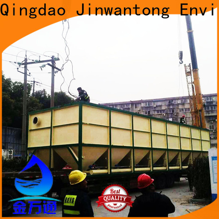 Jinwantong inclined plate settler supply for food industry