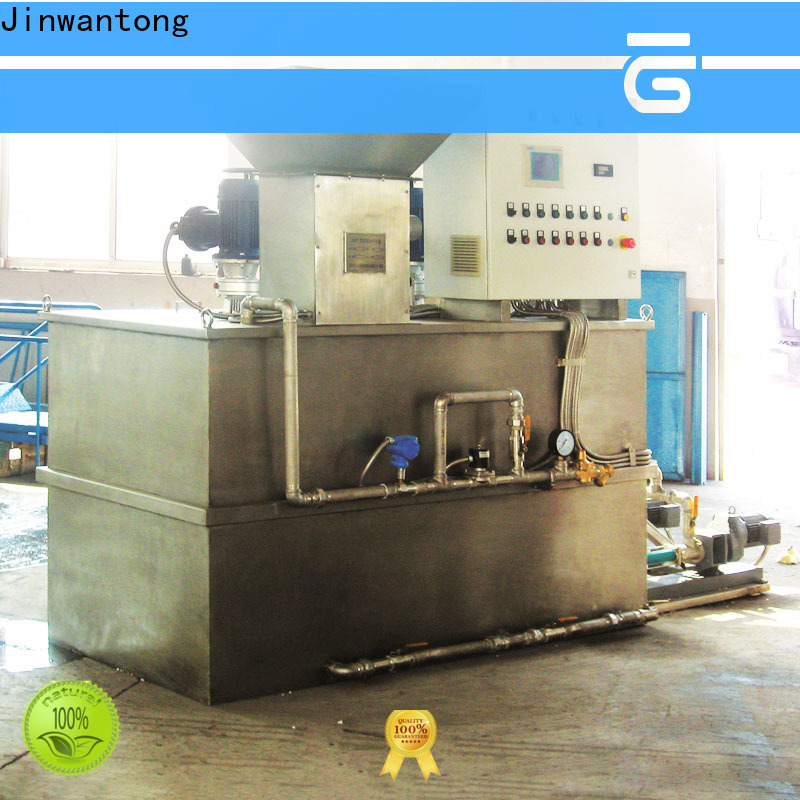 Jinwantong chemical dosing equipment with good price for mix water and chemicals