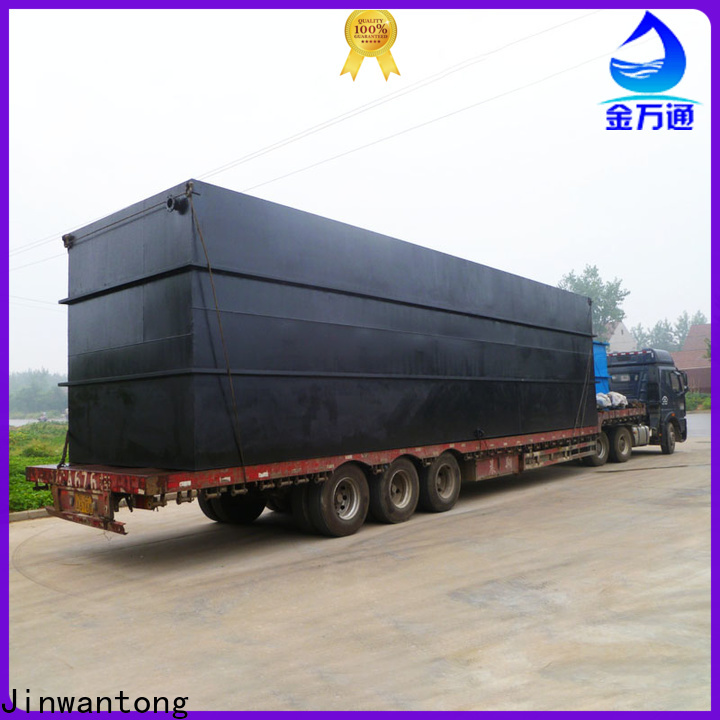 Jinwantong sewage treatment system suppliers for hotel