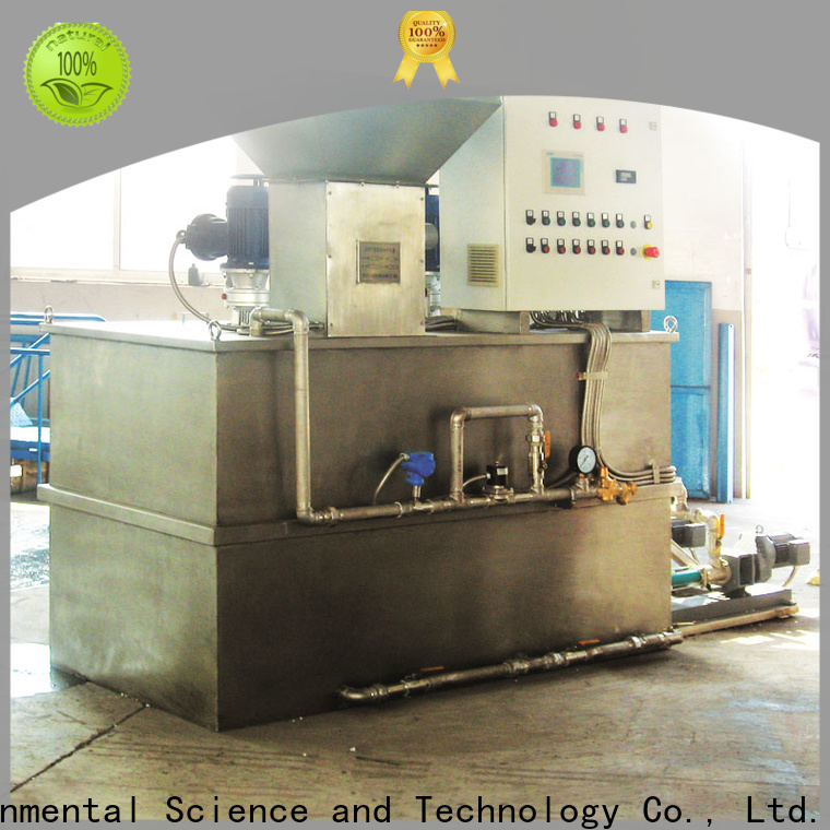 Jinwantong sewage treatment plant chemical dosing wholesale for powdered and liquid chemicals