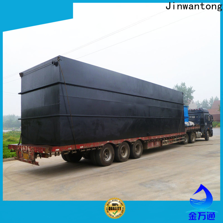 Jinwantong high-quality package wastewater treatment plant manufacturer company for oilfield labor camp
