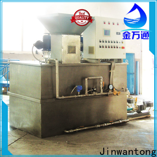 Jinwantong chemical dosing in water treatment plant wholesale for powdered and liquid chemicals