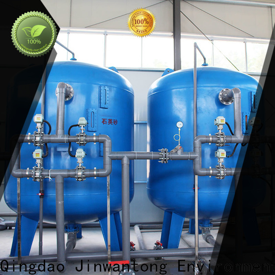 Jinwantong sand filter tank for business for ground water purification