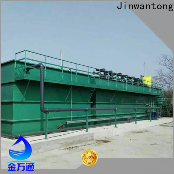 Jinwantong mbr water treatment for business for paper industry
