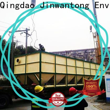 Jinwantong latest inclined plate settler design from China for chemical waste water