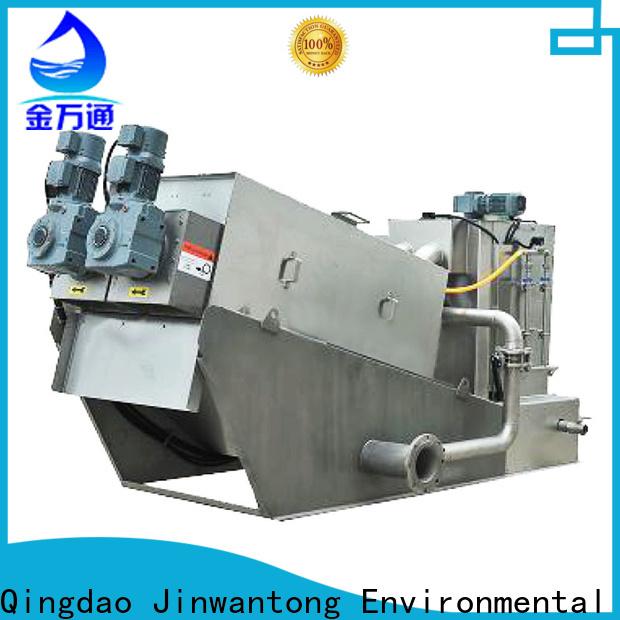 cost-effective sludge dewatering machine supply for wineries