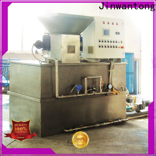 custom chemical dosing system for water treatment factory for powdered and liquid chemicals