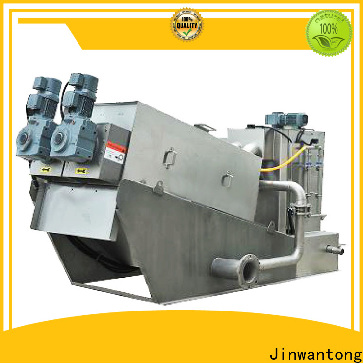 Jinwantong high-quality sludge dewatering machine for business for wineries