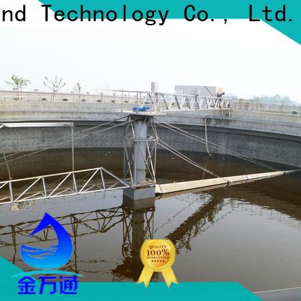 light weight wastewater treatment scraper factory for final sedimentation tank