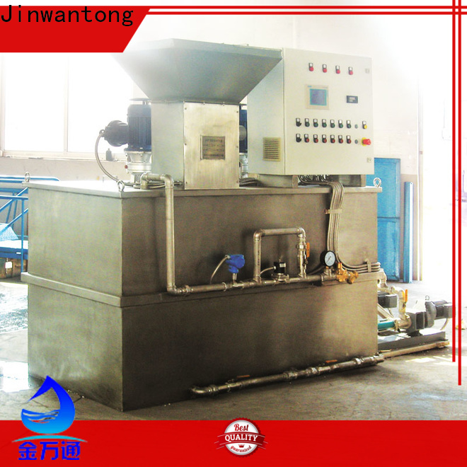 Jinwantong automatic chemical dosing system suppliers wholesale for mix water and chemicals