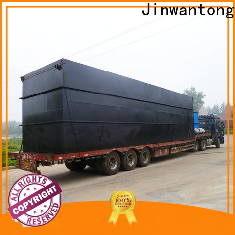 Jinwantong effluent treatment plant directly sale for oilfield labor camp