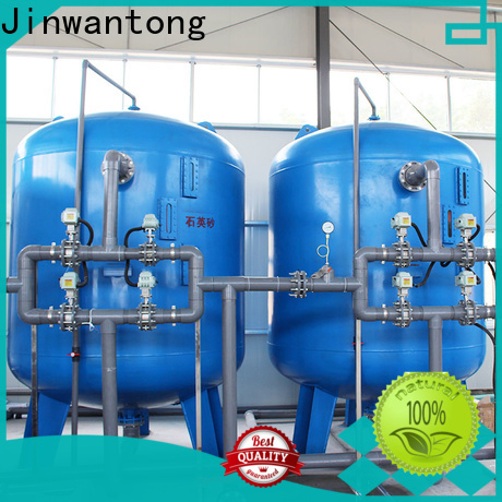Jinwantong pressure sand filter with good price for alga removal
